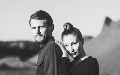 Parfotografering i två stilar – Madde och Krister