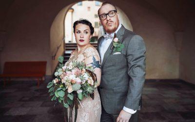 Bröllop i Tyresö – Vintage och filmiskt