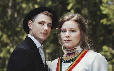 Bröllop i Härnösand med samiska inslag