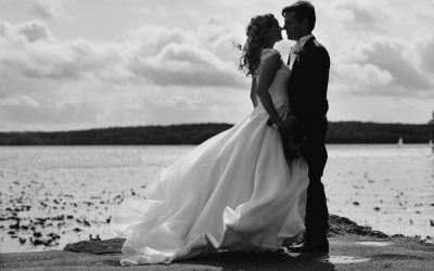 Blåsigt bröllop i Sigtuna