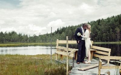 Marie & Rickard Vintagebröllop i Värmland