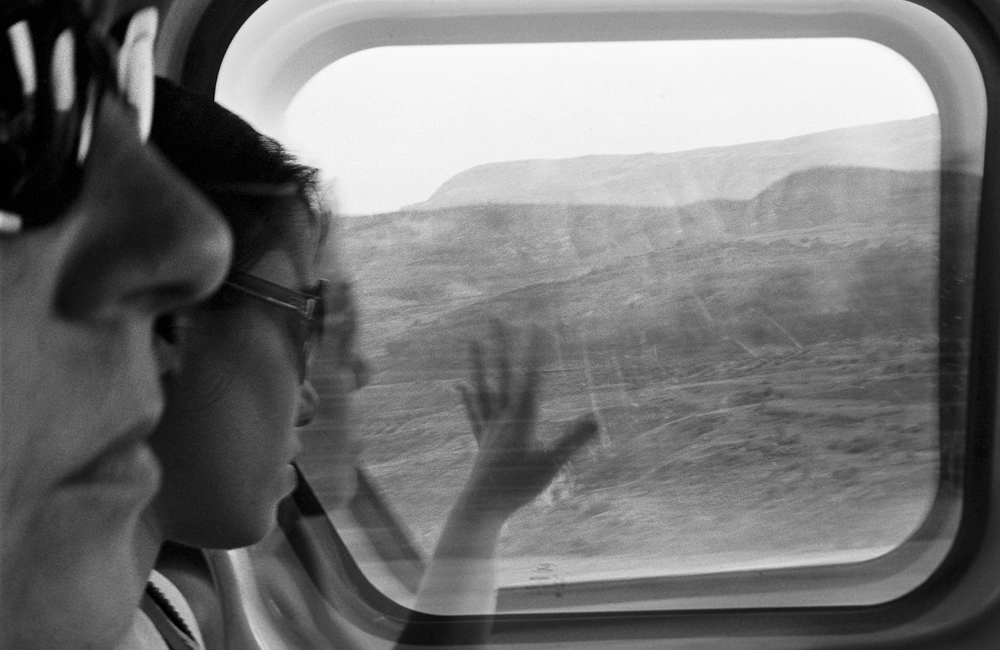En resa i svartvitt – analogt