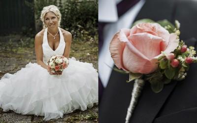 Camilla & Viktor – Ett Lantligt Bröllop på Plevnagården i Malmköping