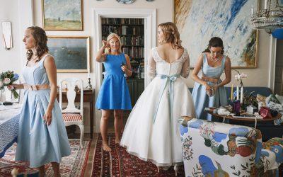 Bröllop i skärgården på Dalarö
