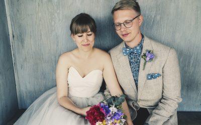 Trädgårdsbröllop i Järna